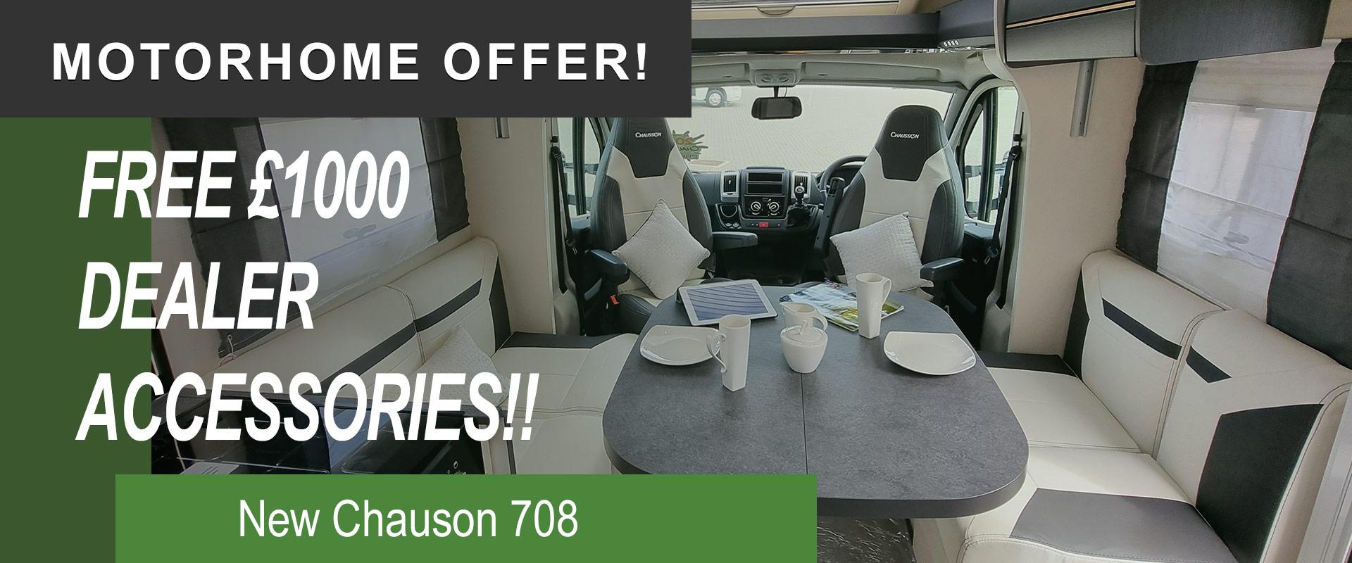 Chausson 708 Dealer Offer