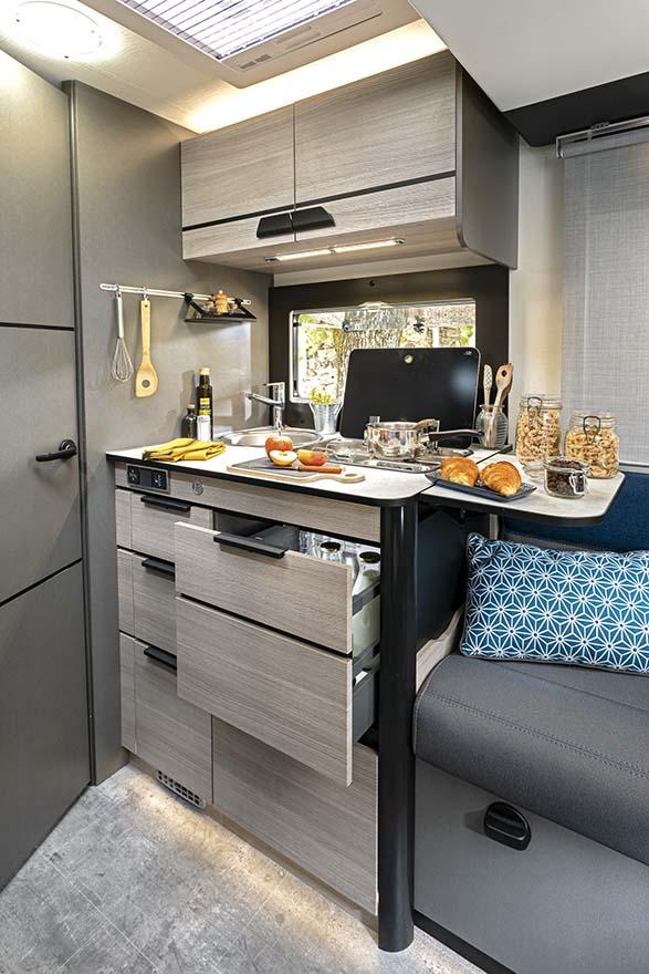 Kitchen area X550