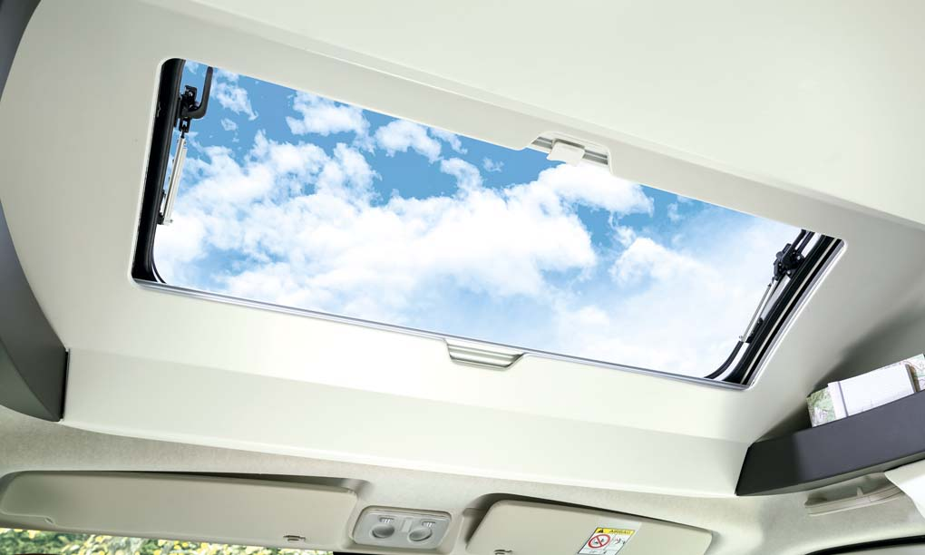 Sky light in Chausson X550